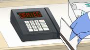 S8E04.012 Mordecai's Card is Denied