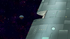 S8E03.015 The Park Dome Heading Inside the Space Tree Station