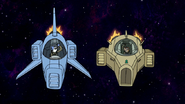 S8E15.017 The Duo Going OOOHH in Their Fighter Ships