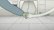 S8E07.135 Muscle Man and HFG Holding Hands
