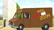 S7E26.091 The Delivery Truck Leaving