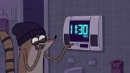 S5E20.038 Setting Benson's Bathroom Clock Wrong