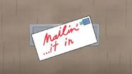 S6E20.020 Mailin'... it in