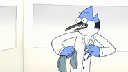 S7E29.165 Mordecai Witnessing FMM Losing His Clothes