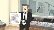 S4E23.027 Top Executive Holding a Figures Chart