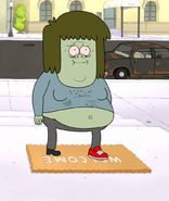 S4E34.011 Muscle Man Wearing the Wrong Shoe