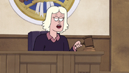 S7E09.174 The Judge Sentencing Werewolf Pops to Life in Prison