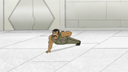 S8E15.099 Rawls Doing Fingertips Push-Ups