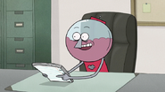 S7E03.073 Benson Offering to Write a Letter of Recommendation for Rigby