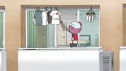 S7E15.112 Benson Hanging His Laundry