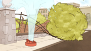 S5E20.067 Fire Hydrant and Tree Destroyed