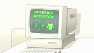 S7E29.121 Override Accepted