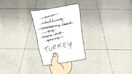 S5E12.113 The Thanksgiving Gang's List