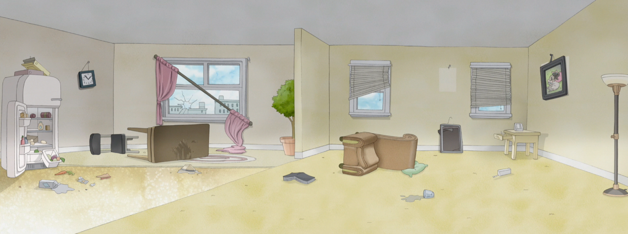 S4E36.045 Bensonu0027s Wrecked Apartment.png