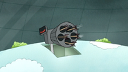 S7E05.366 The Explosive Arrows Going Inside the Turret