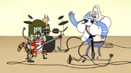 S5E23.59 Mordecai and Rigby Fighting