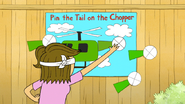 S6E20.129 Eileen Pinning the Tail on the Chopper