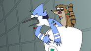S7E05.391 Mordecai and Rigby Waking Up Again