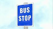 S2E25.010 Bus Stop Sign