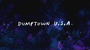S7E01 Dumptown USA Title Card