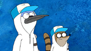 S6E24.043 Mordecai and Rigby Looking Somewhere