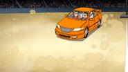 S4E24.120 Orange Car Drivers