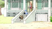 S5E07.005 Mordecai and Rigby Not Paying Attention Again