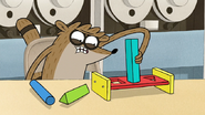 S7E06.115 Rigby Putting the Wrong Block in the Wrong Hole