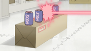 S8E17.032 Soda Can Hit by Laser