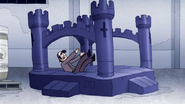S4E36.205 Security Guard Landing on a Bounce Castle
