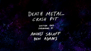 S3E04 Death Metal Crash Pit Title Card V2