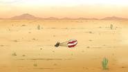 S5E30.010 Benson Waking Up in the Desert