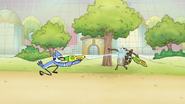 S8E11.010 Mordecai Squirting Rigby