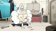 S8E27EP.018 Skips Now Wears Cut Off Jean Shorts