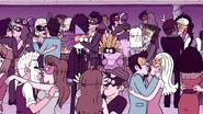 S5E14.100 Mordecai & CJ Watching People Kiss