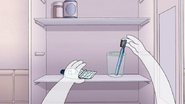 S7E08.132 HFG Grabbing His Toothbrush and Toothpaste