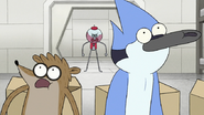 S8E14.038 Benson Calling Out Mordecai and Rigby