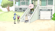 S6E06.038 Everyone Watching Rigby Leave