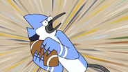 S6E13.191 Mordecai Going to Throw the Rugby Ball