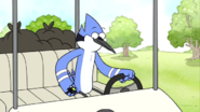 S03E16.026 Mordecai Checking His Phone
