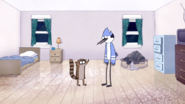 S5E20.001 Mordecai and Rigby Talking About Muscle Man