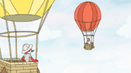 S6E25.053 Margaret Spotting Del in a Hot Air Balloon