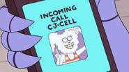 S6E28.003 CJ Calling on Mordecai's Phone