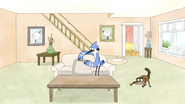 S3E34.046 Mordecai Checking the Couch