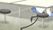 S7E29.158 Mordecai Crawling Under Tables