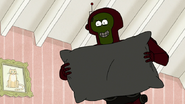 S8E02.061 R-659 Holding a Pillow