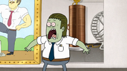 S7E25.154 Muscle Man Shocked to See Robots