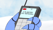 S5E07.067 0.4 Percent Battery Life Remaining