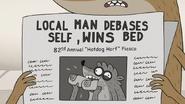 S7E24.010 Local Man Debases Self, Wins Bed