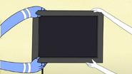 S6E07.081 Mordecai and CJ Sets Up the Flat Screen